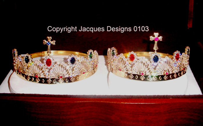 Church Crowns Designed and Handmade by Jacques