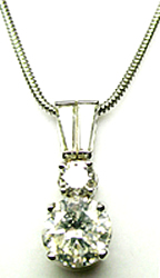 Jacques Platinum Diamond Pendant