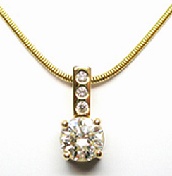 Jacques Diamond Pendant