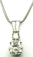 Lois Diamond Pendant